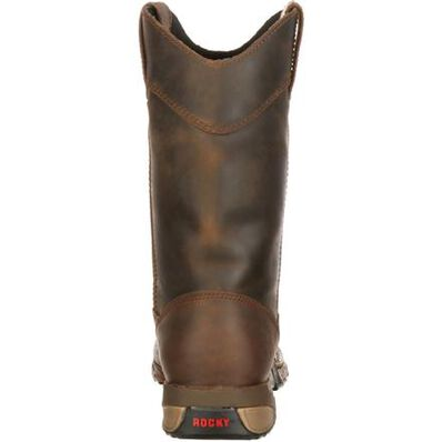 Rocky Aztec Waterproof Wellington Work Boot, , large
