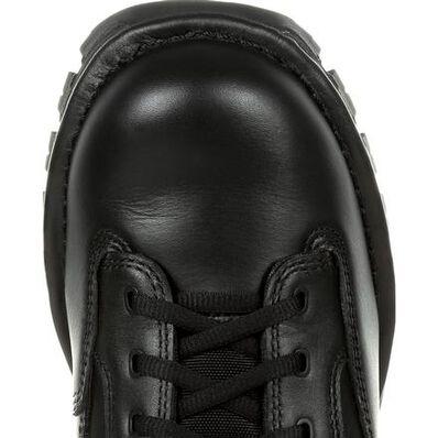 """Rocky Portland 6"""" Black Side Zip Waterproof Public Service Boot, , large"""