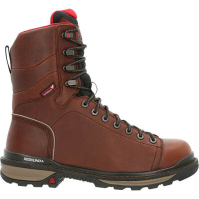 Rocky Rams Horn Lace to Toe Composite Waterproof Work Boot, , large