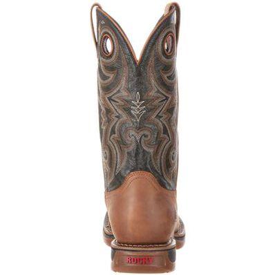 Rocky Long Range Waterproof Western Boot, , large