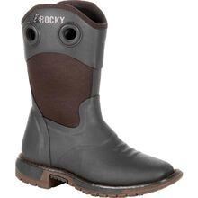 Rocky Big Kid's Rubber Western Boot