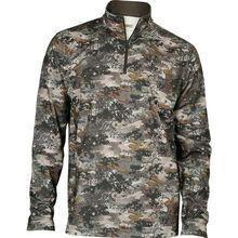 Rocky Camo Fleece Zip Shirt