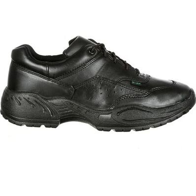 Rocky 911 Athletic Oxford Public Service Shoes, BLACK, large