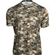Rocky Camo Short-Sleeve Performance Tee Shirt, Rocky Venator Camo, small