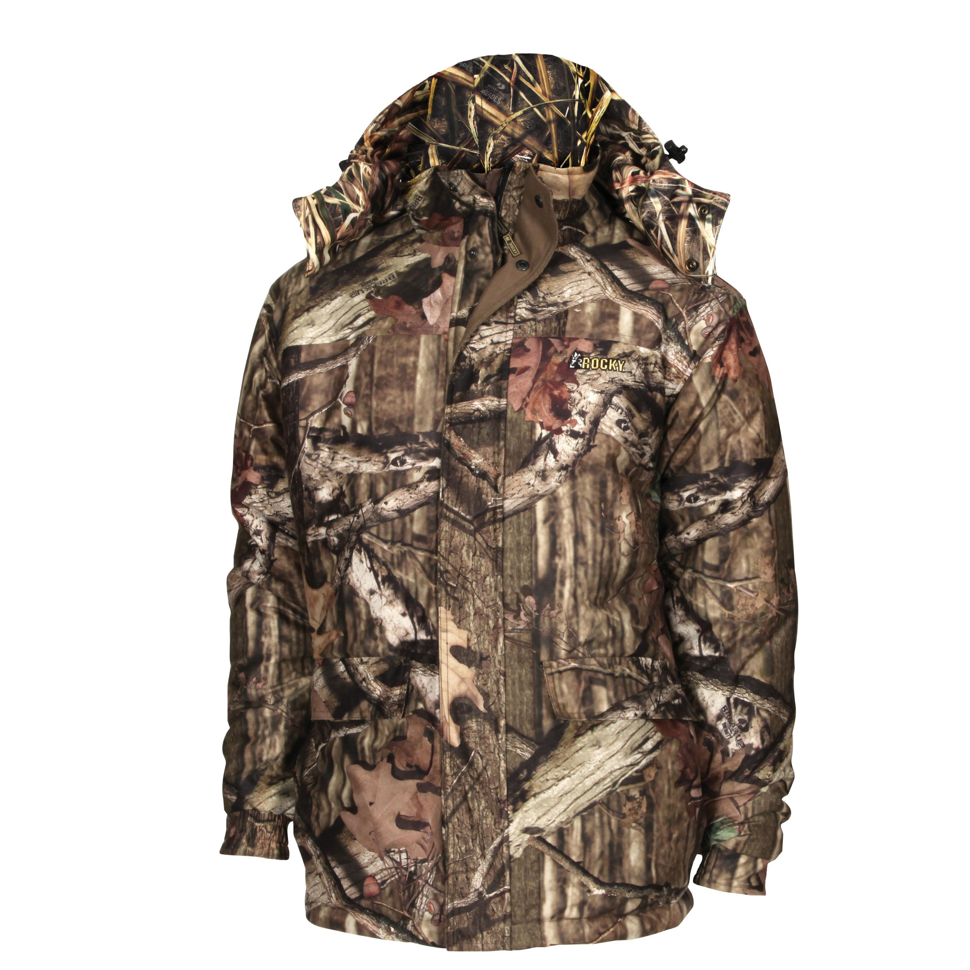 7993e9b0548d3 Rocky ProHunter Reversible 80G Insulated Parka, , large. Men's hunting  jacket ...