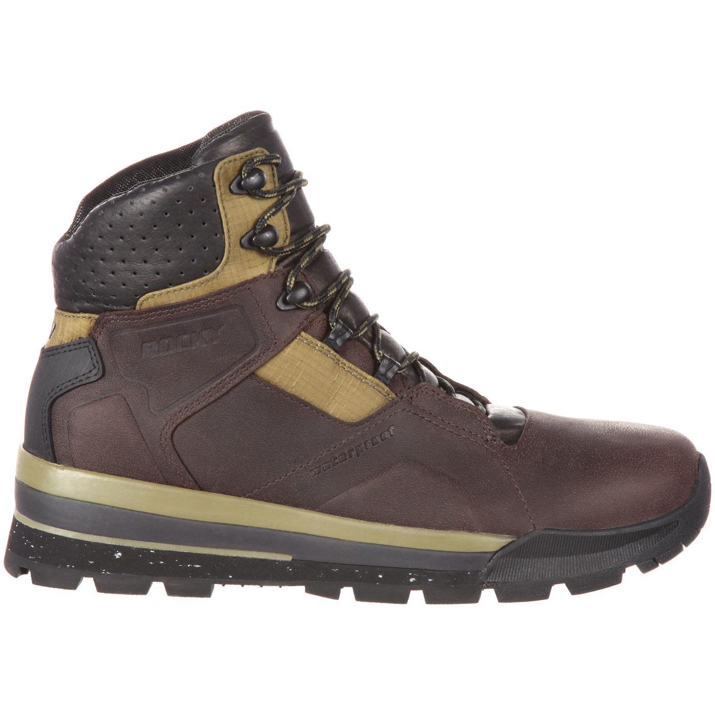 Rocky S2v Extreme Men S Waterproof Brown Green Hiker Rke0035