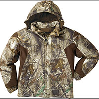 Rocky Junior ProHunter Waterproof Insulated Hooded Jacket, Rltre Xtra, medium