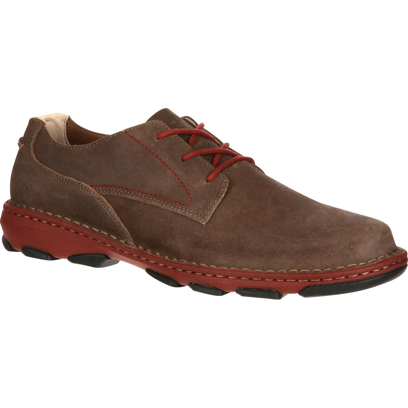 e114715622 Rocky Cruiser Casual - Men s Brown Leather Oxford Shoes