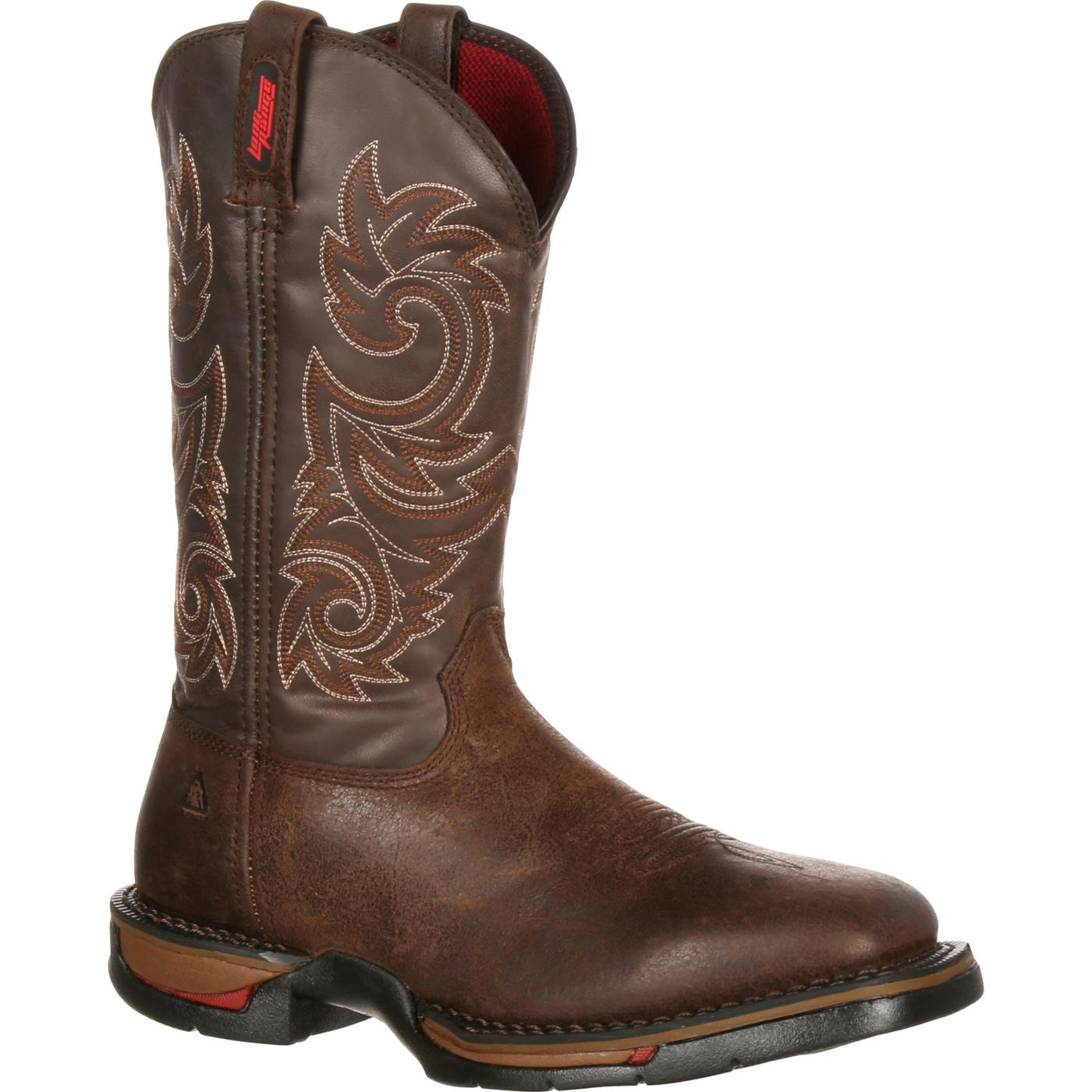 Rocky Long Range - Men's Comfortable Western Work Boots