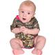 Rocky SilentHunter Baby Camo Onesie, PINK, small