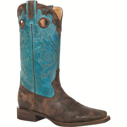 Rocky Women's HandHewn - Square Toe Western Boot, , large