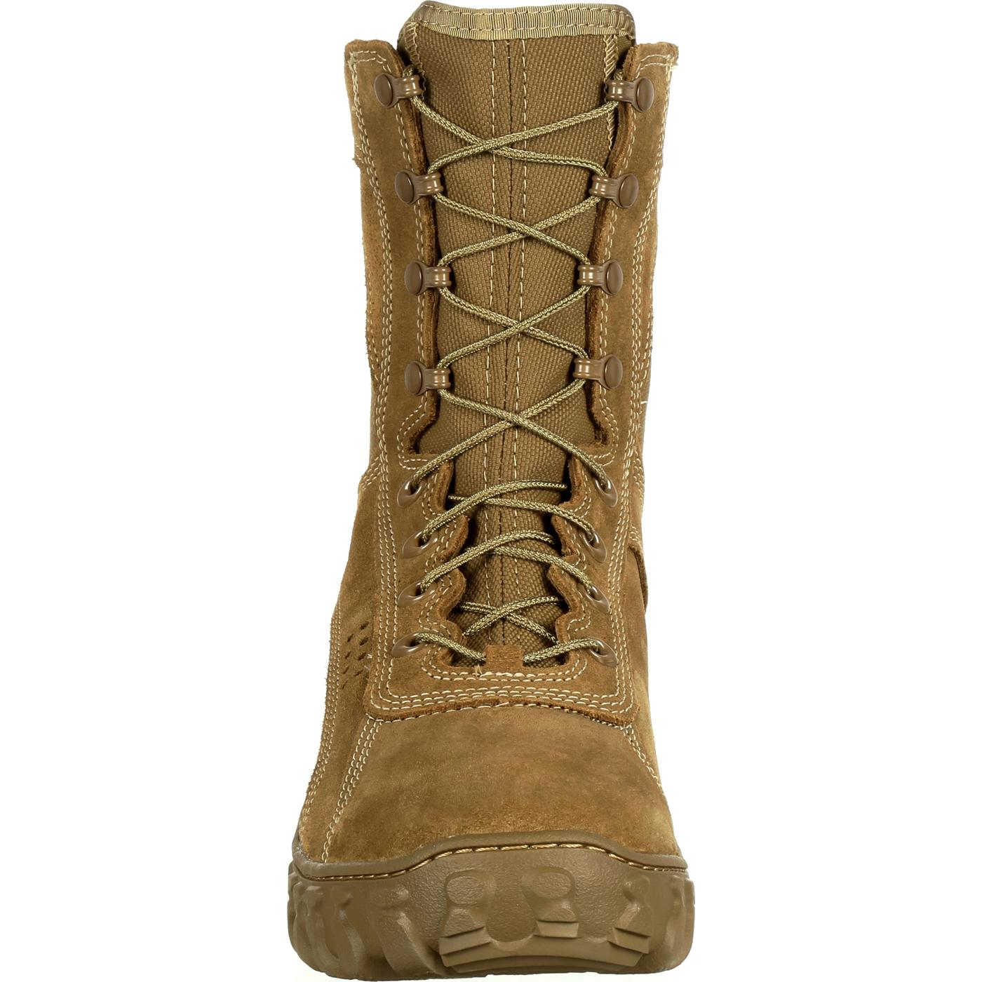 Coyote Brown Military Boot Rocky S2v Rkc050