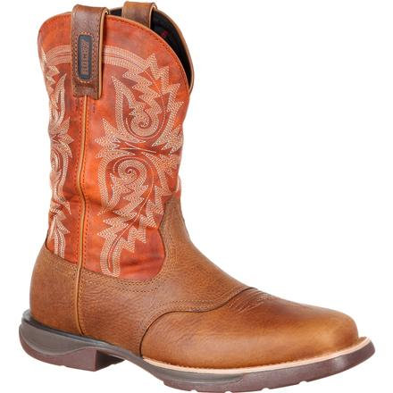 Rocky LT Waterproof Saddle Western Boot, , large