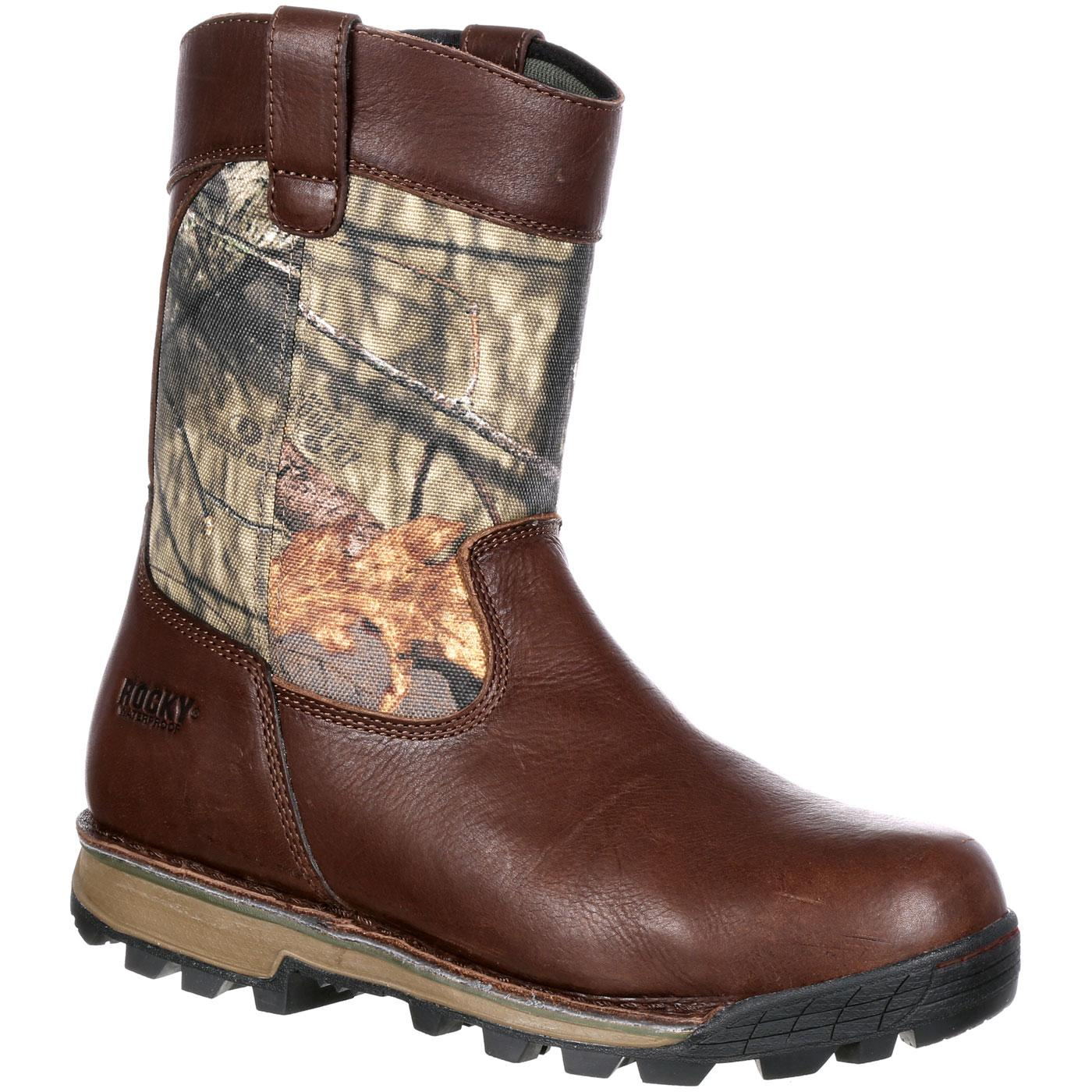 c7044873e62 Rocky Traditions Waterproof 400G Insulated Wellington Boot
