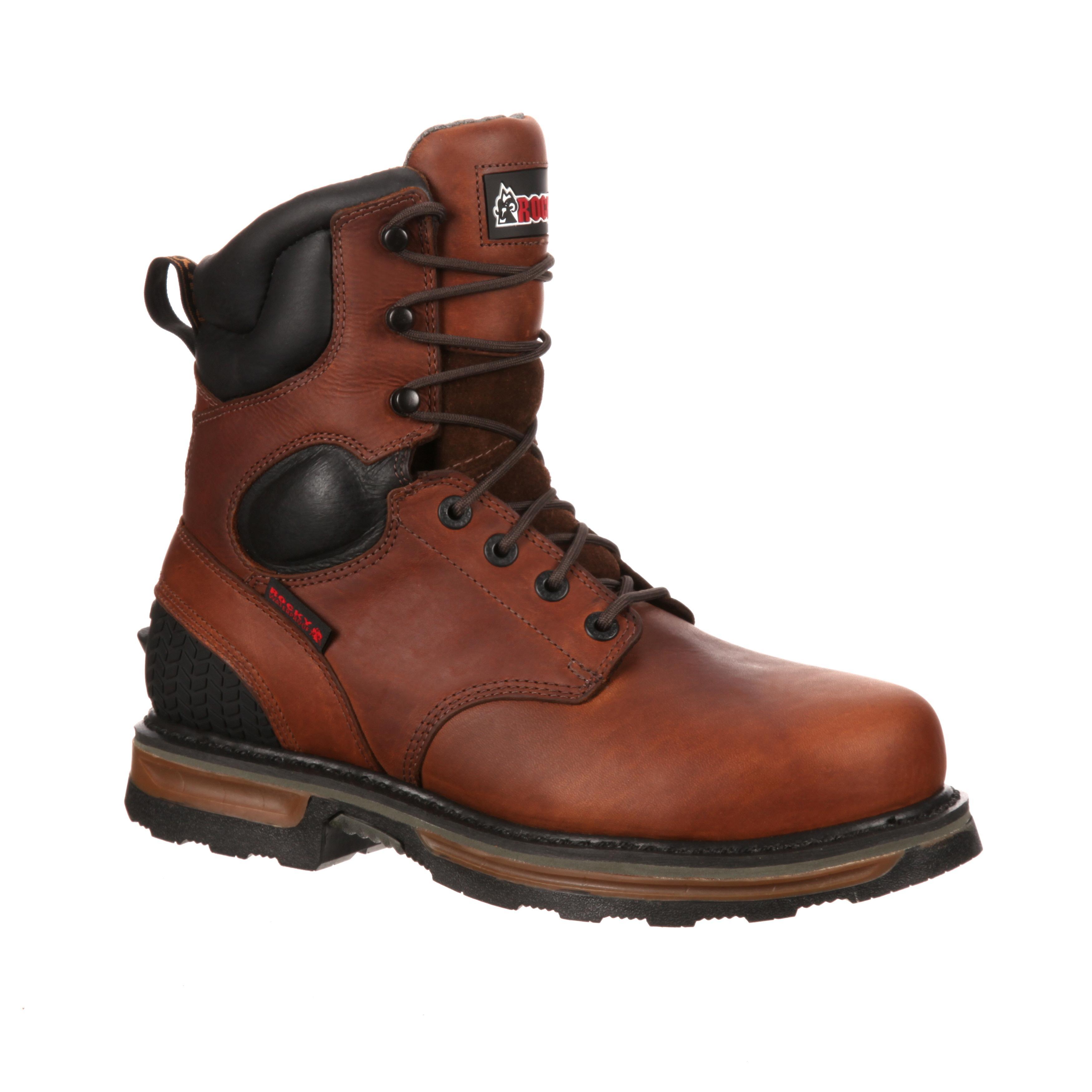 05d9f176fed Rocky Elements Steel Steel Toe Waterproof Work Boot