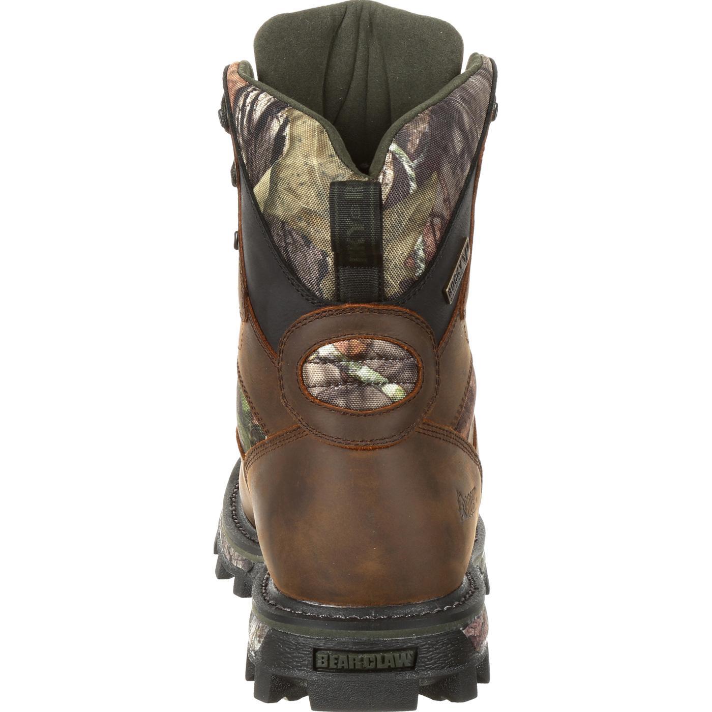 f61b2c389d6 Rocky BearClaw FX 800G Insulated Waterproof Mossy Oak® Camo Outdoor Boot