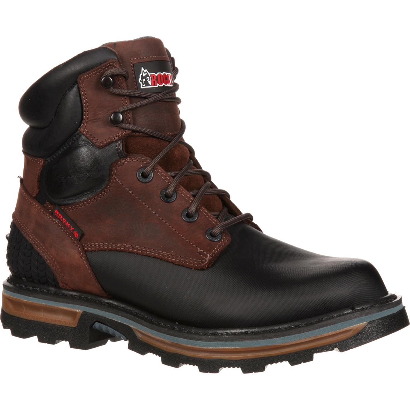Rocky Elements Block Steel Toe Waterproof Work Boot, RKYK090