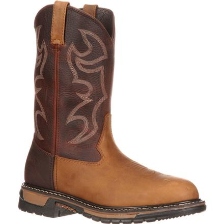 Rocky Original Ride Branson Roper Western Boots, , large