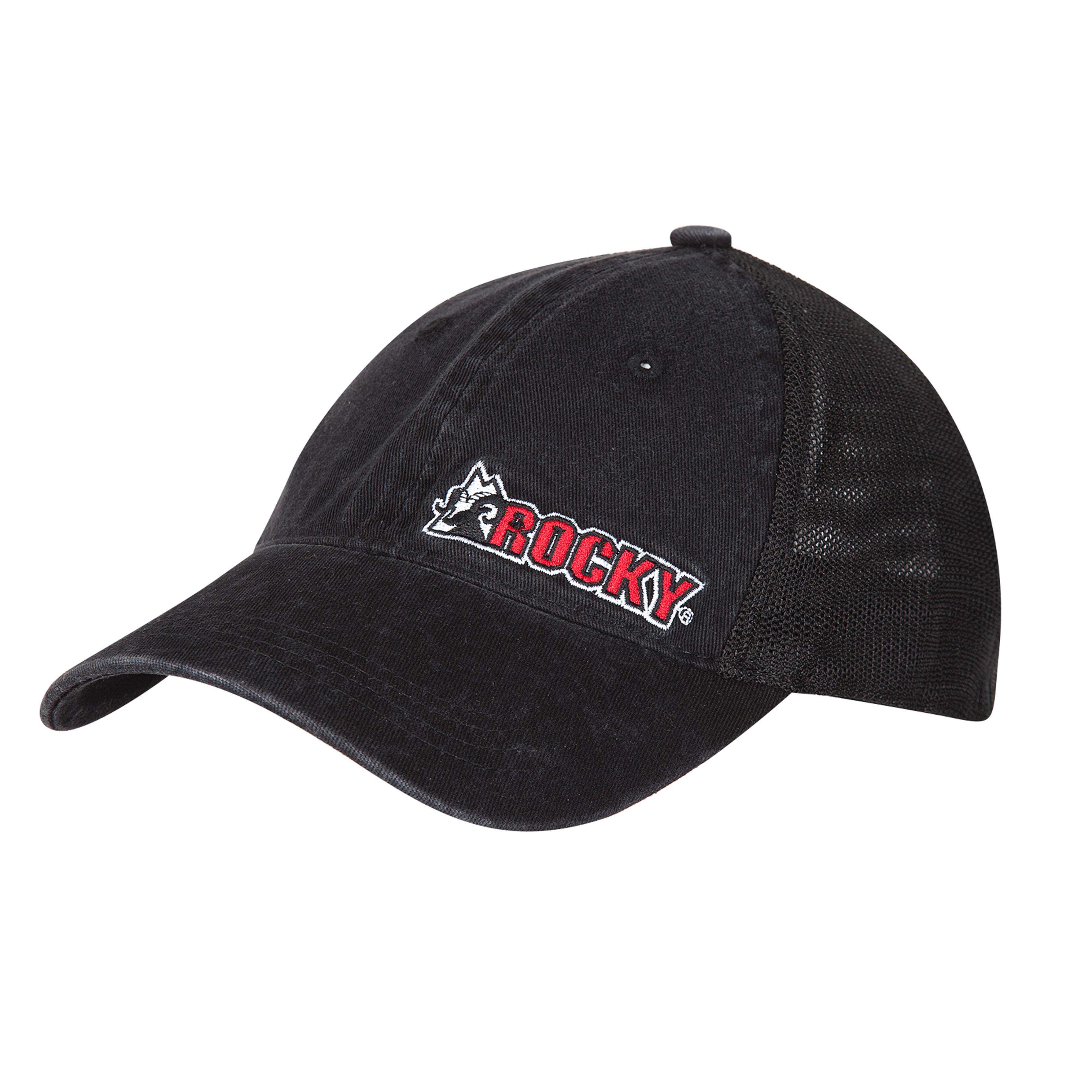 9cd8554145d Rocky  Men s Black Flex-Fit Mesh Ball Cap