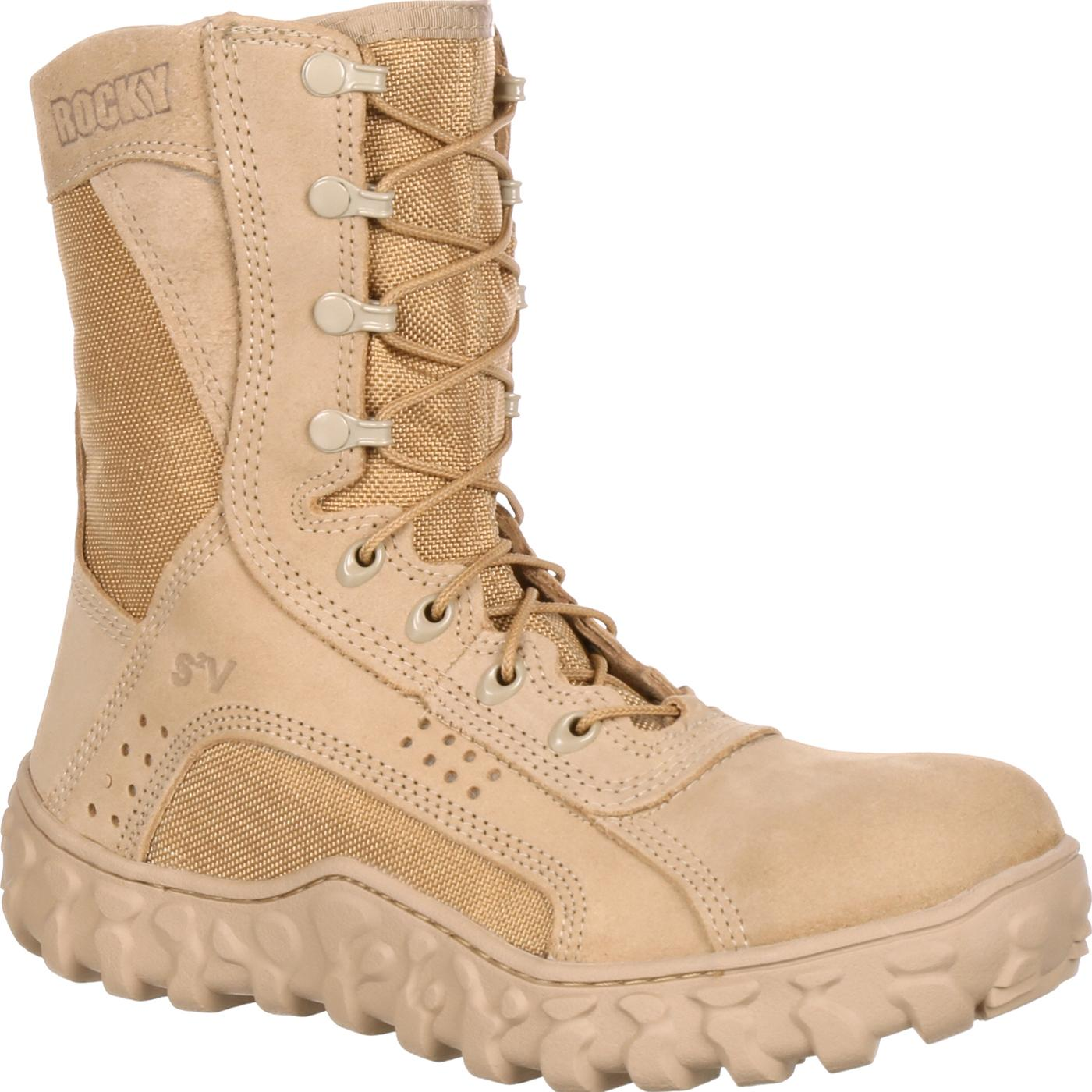 Rocky S2V Comfortable USA-Made Military Boot, FQ0000101