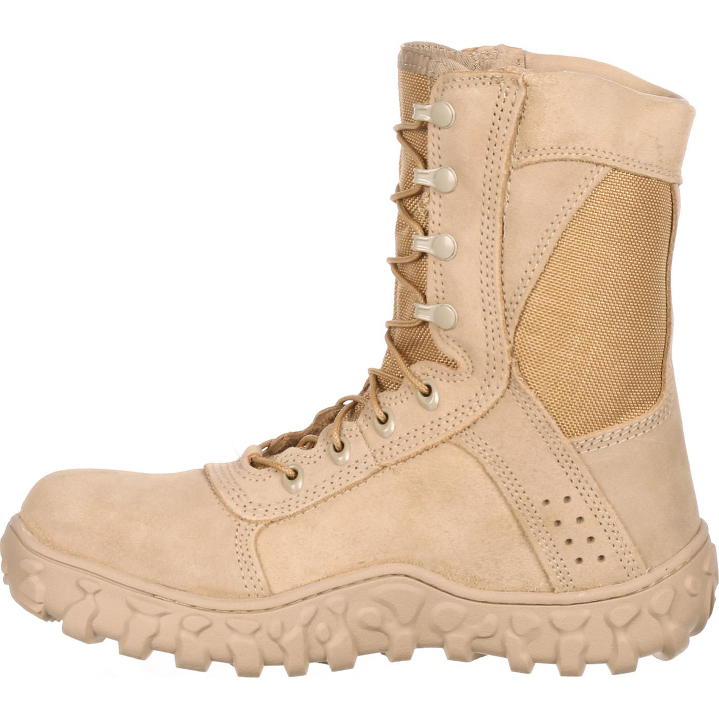 Rocky S2V Unisex Steel Toe Tactical Military Boot, FQ0006101