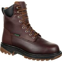 Rocky 8-in Waterproof Lace Up Work Boot, , medium