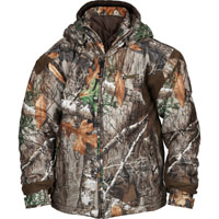 Rocky Junior ProHunter Waterproof Insulated Hooded Jacket, Realtree Edge, medium