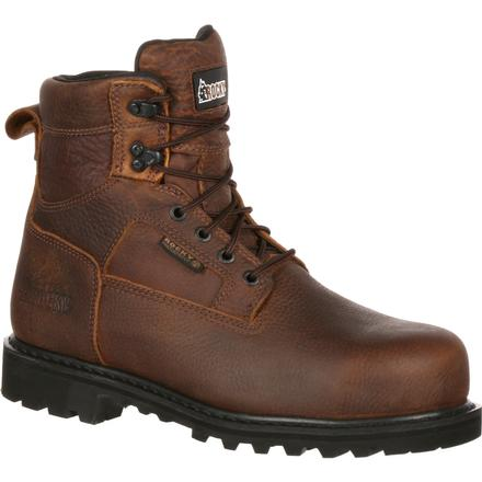 Rocky Exertion Steel Toe Waterproof Work Boot, , large