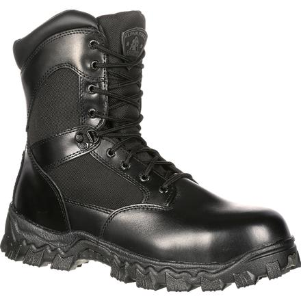 Rocky AlphaForce Zipper Composite Toe Duty  Boot, , large