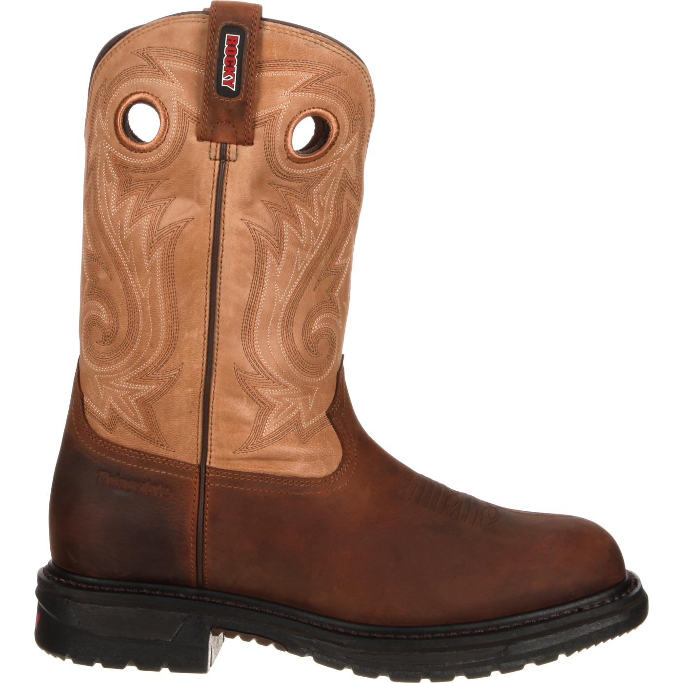 Rocky Original Ride Insulated Waterproof Western Boot, RKW0099