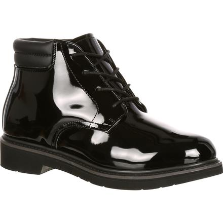 Rocky Dress Leather High Gloss Chukka