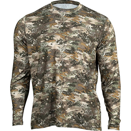 Rocky Camo Long-Sleeve Performance Tee Shirt, Rocky Venator Camo, large