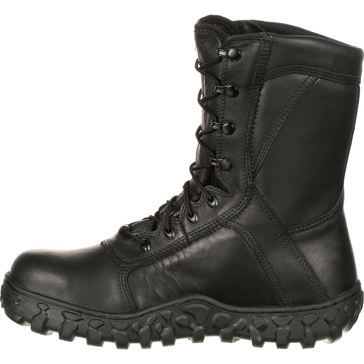 Rocky S2V Steel Toe Tactical Military Boot made in USA
