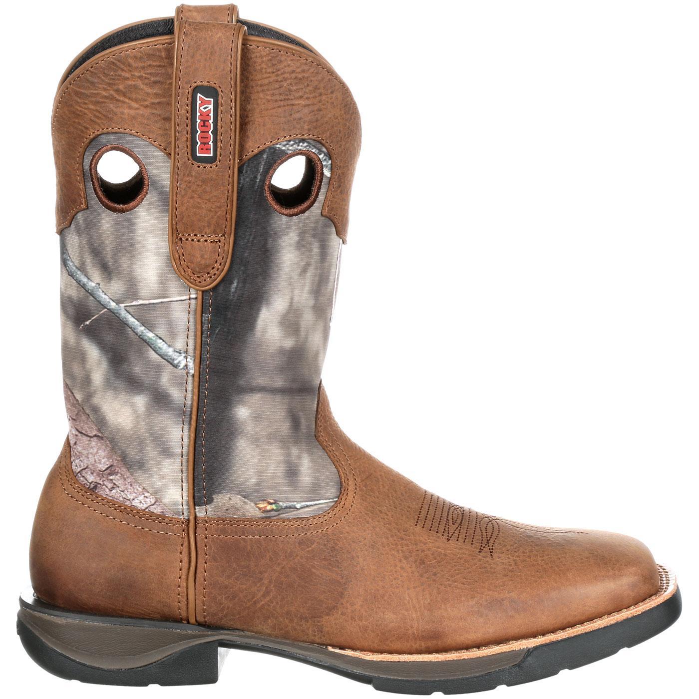 ab6e2f8aa4c Rocky LT Waterproof Camo Western Boot
