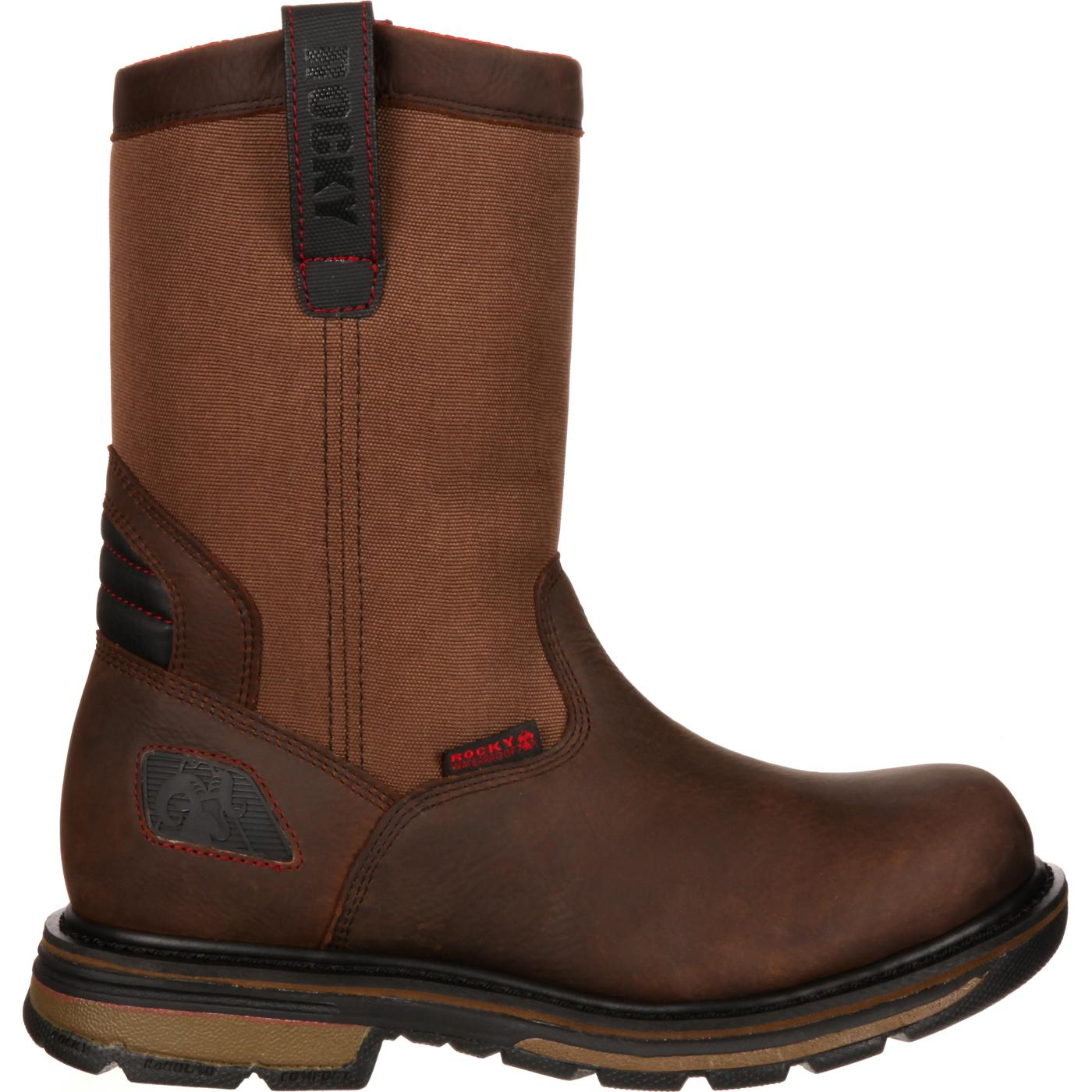 a520f9d3004 Rocky Hauler Composite Toe Waterproof Pull-On Work Boot