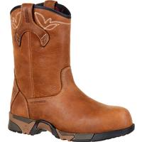Rocky Aztec Women's Composite Toe Waterproof Work Pull-on Boot, , medium