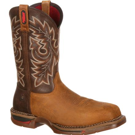 Rocky Long Range Carbon Fiber Toe Western Boot, , large