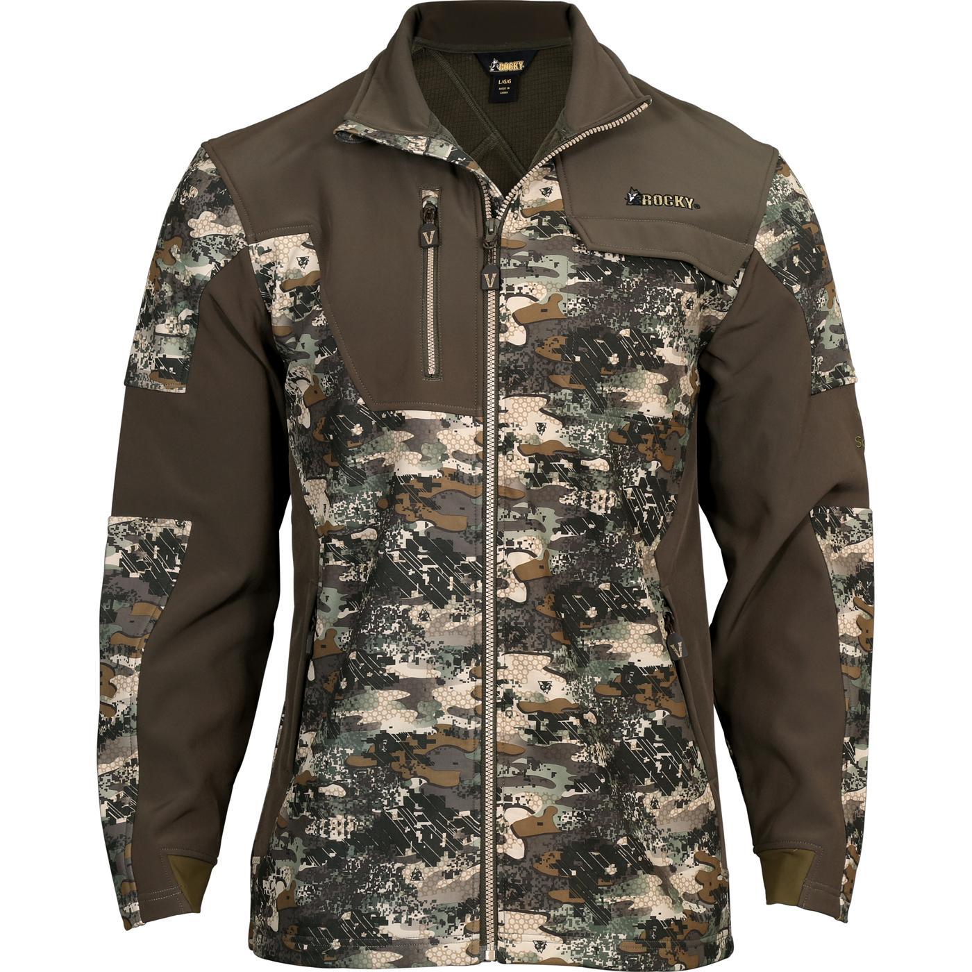 Rocky Venator Men S Camouflage 2 Layer Hunting Jacket