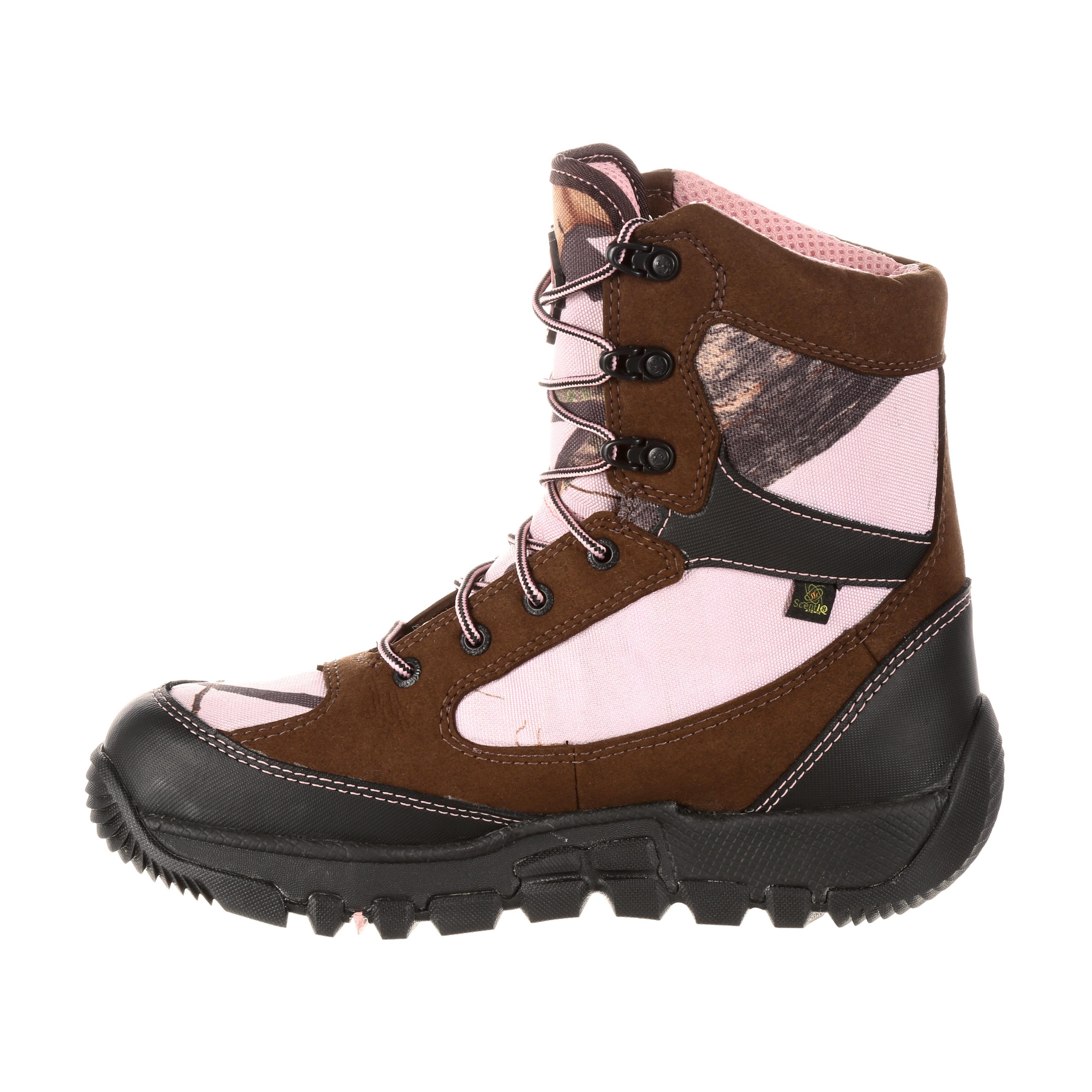 e6e788d2b4c Rocky Women's Waterproof Insulated Camo Outdoor Boot