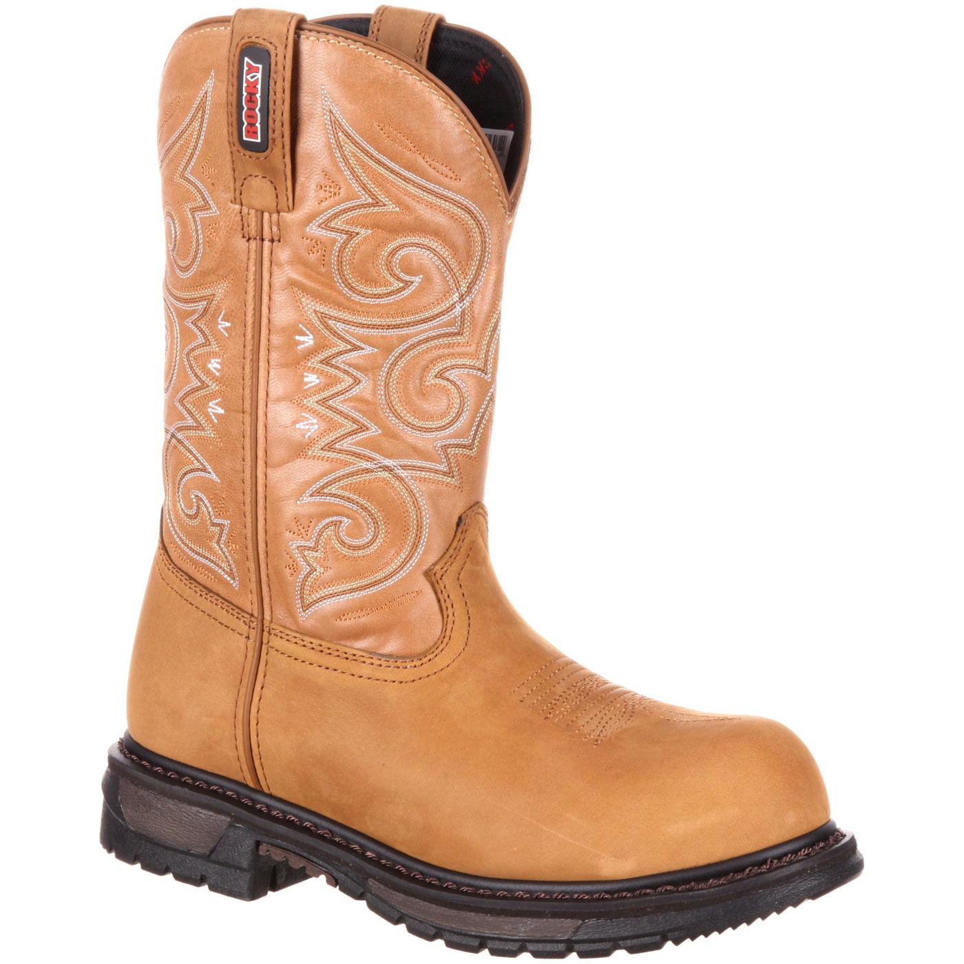 Rocky Original Ride Women s Composite Toe Waterproof Western Boot c72d4d35ed