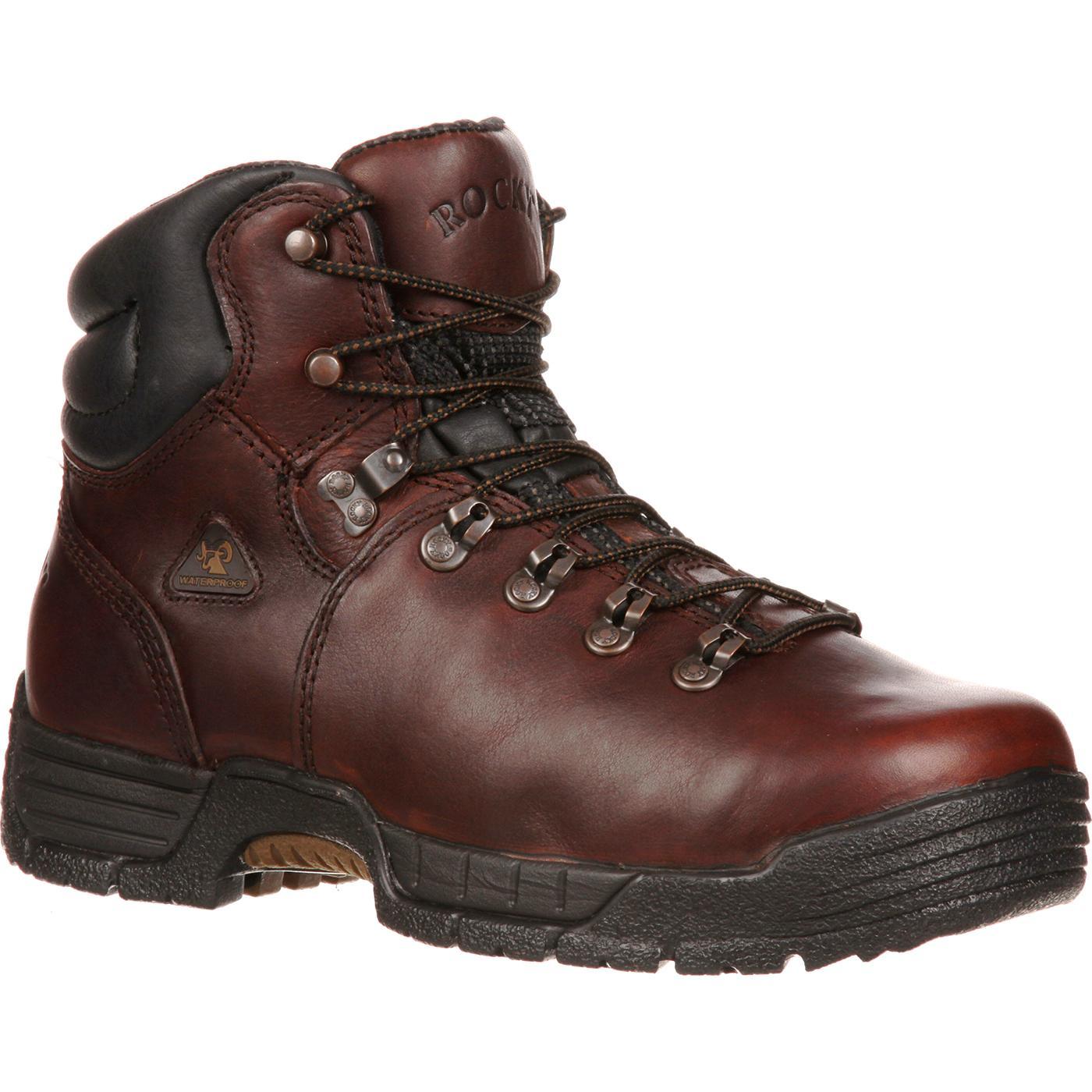 Rocky MobiLite Steel Toe Waterproof Work Boots