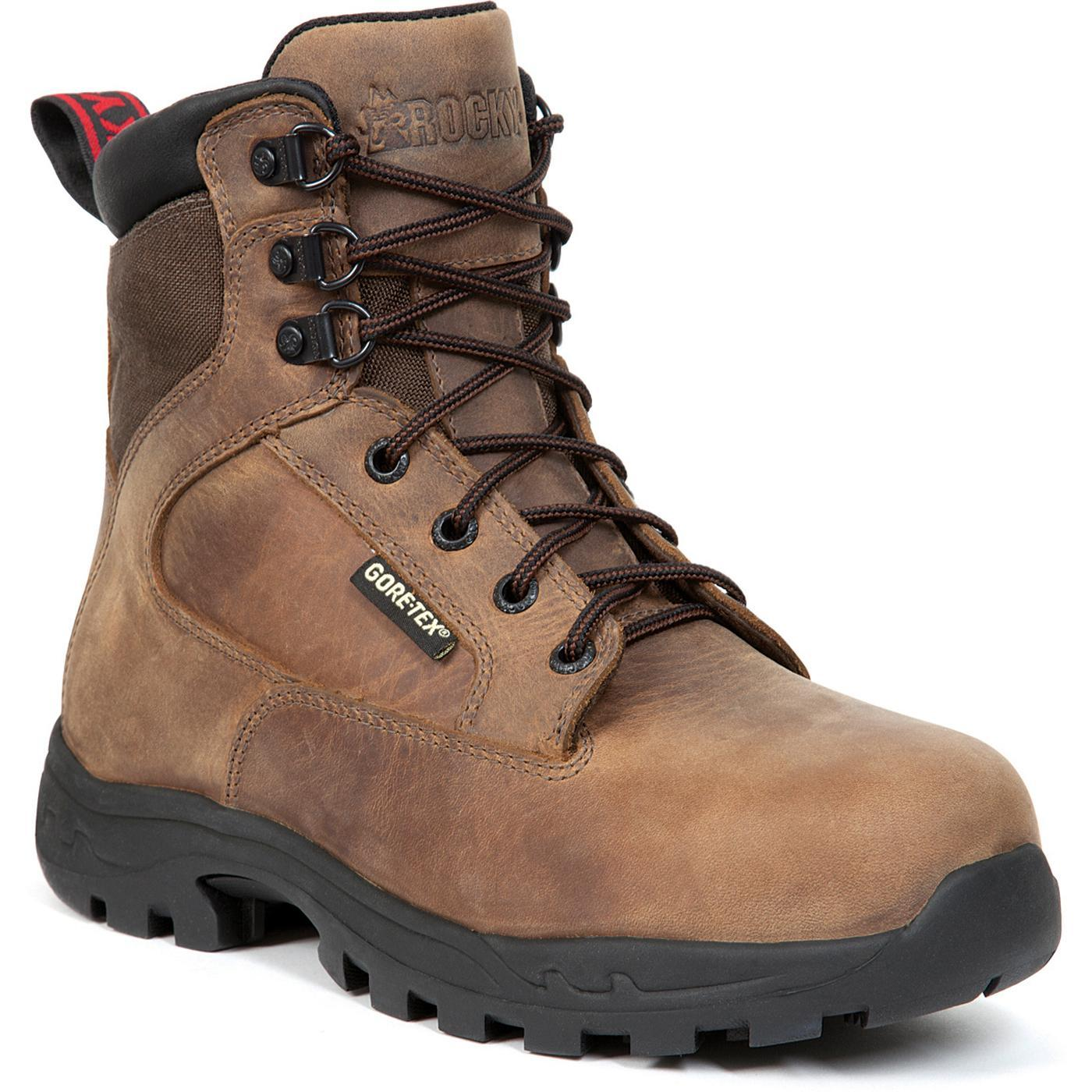 Rocky Women s ProLight Steel Toe Waterproof Insulated Work Boots ... 0bb9387969