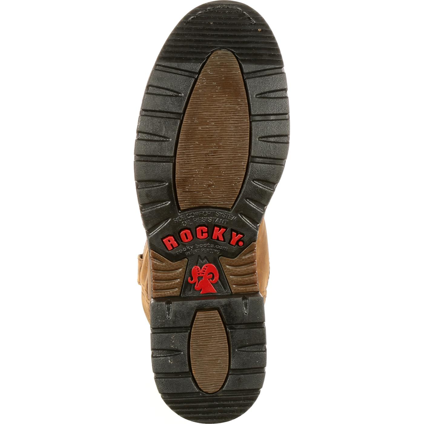 22a2ba59330 Rocky Original Ride Branson Roper Waterproof Western Boots