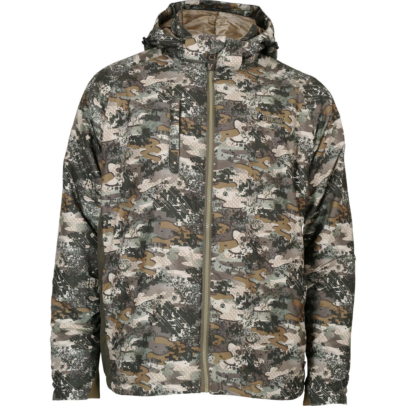 3284fdf1b5158 Rocky Camo Insulated Packable Jacket, Rocky Venator Camo, large