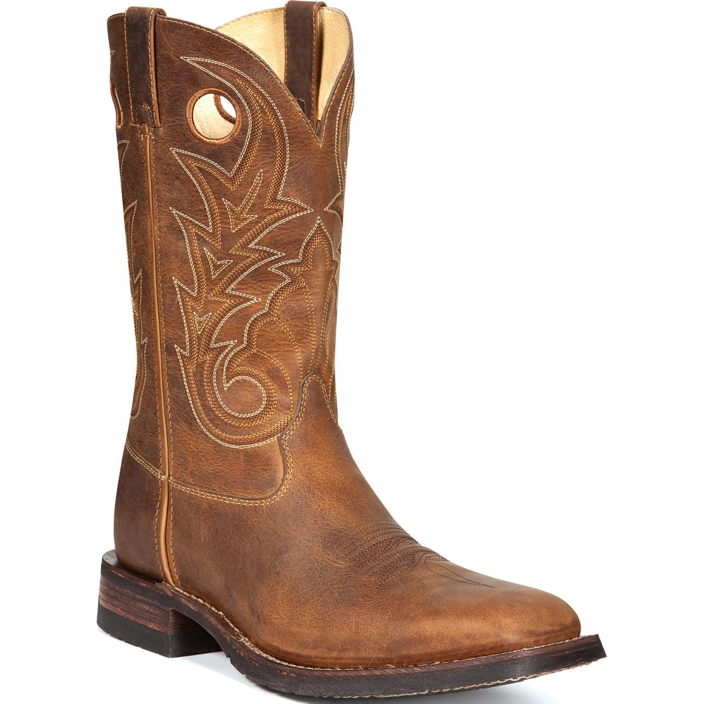 HandHewn Western Boot - Rocky Western Boots - Stock #4982