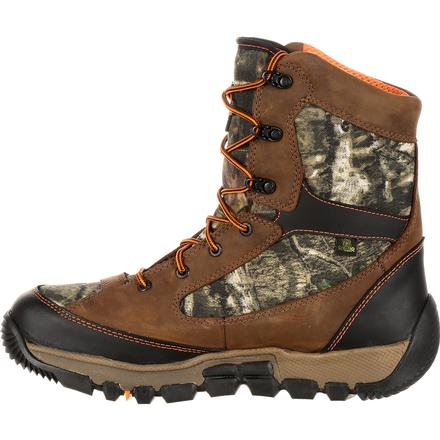 Rocky Waterproof Insulated Camo Outdoor Boot, , large
