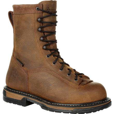 Rocky IronClad Steel Toe Waterproof Work Boot, , large