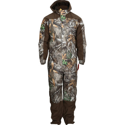 Rocky ProHunter Waterproof Insulated Camo Coveralls, Realtree Edge, large