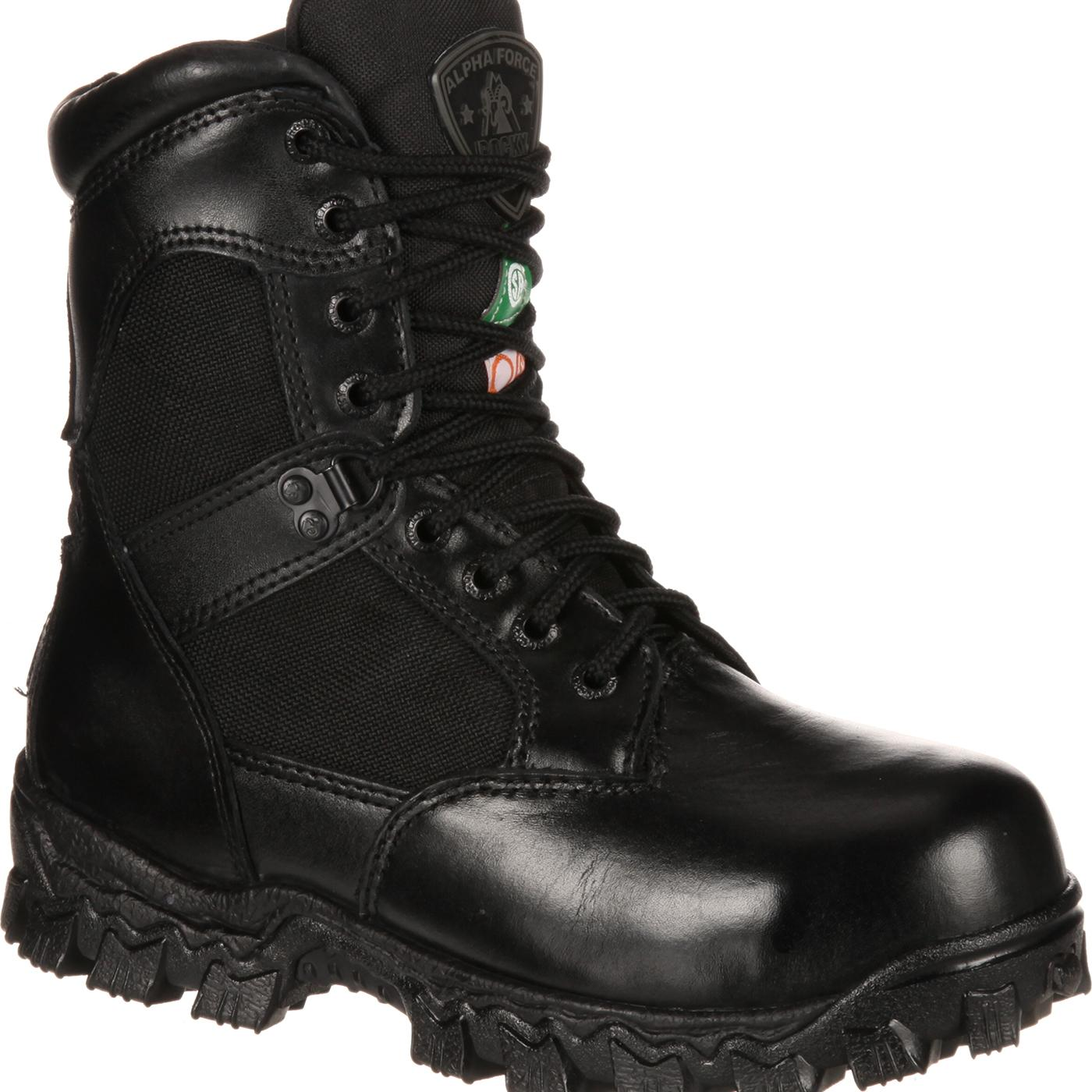 Rocky Alpha Force Composite Toe Waterproof Duty Boot. #6174