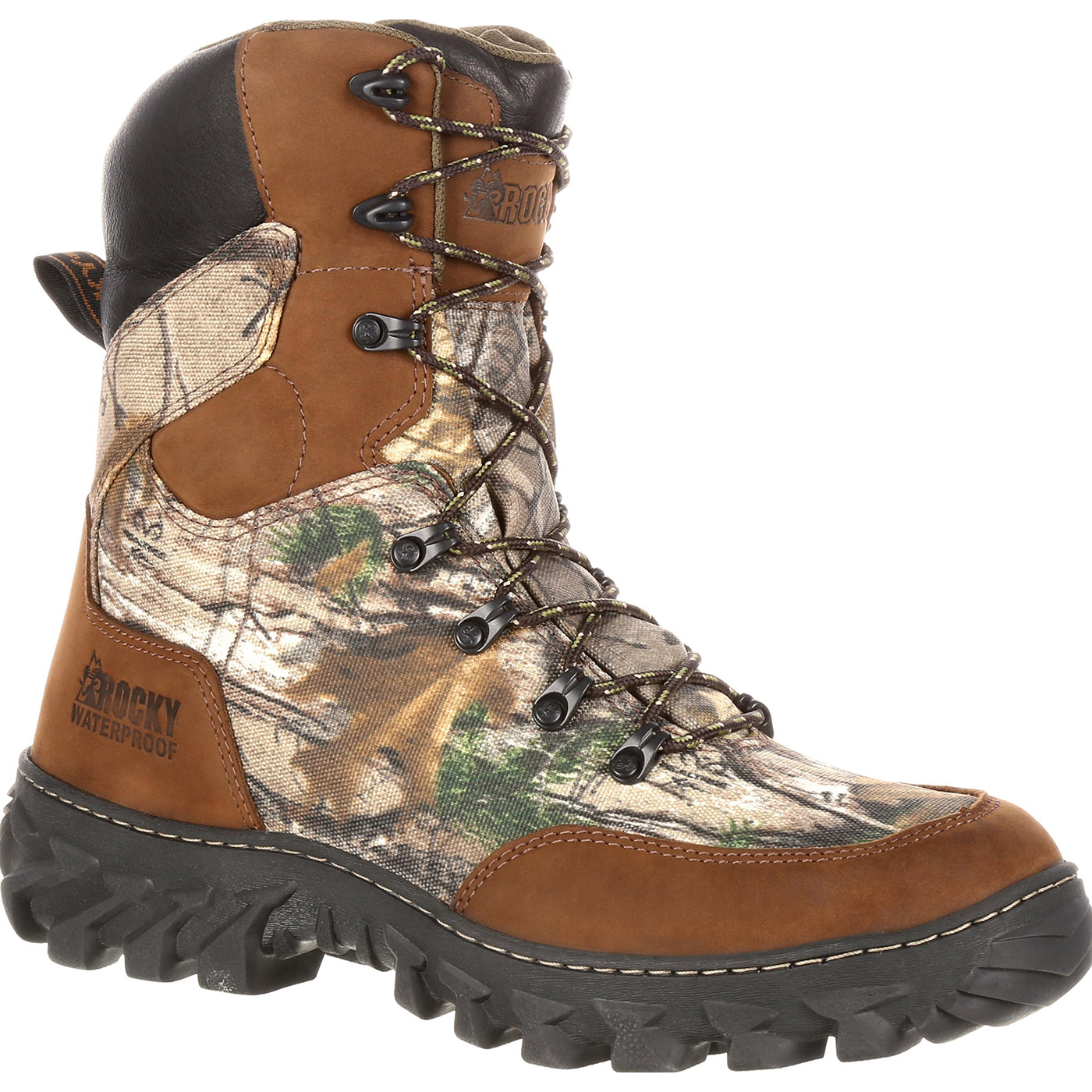 Rocky Jungle Hunter: Waterproof Insulated Outdoor Boots